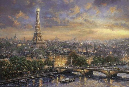 SCHMIDT Puzzle Paříž, město lásky 1000 dílků
