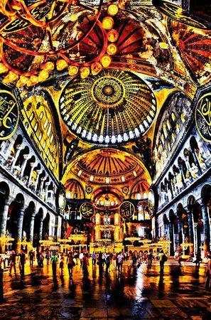 SCHMIDT Puzzle Kostelní kupole 1000 dílků