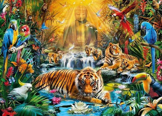 CLEMENTONI Puzzle Mystičtí tygři 1000 dílků