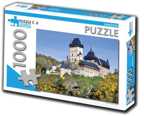TOURIST EDITION Puzzle Karlštejn 1000 dílků (č.8)
