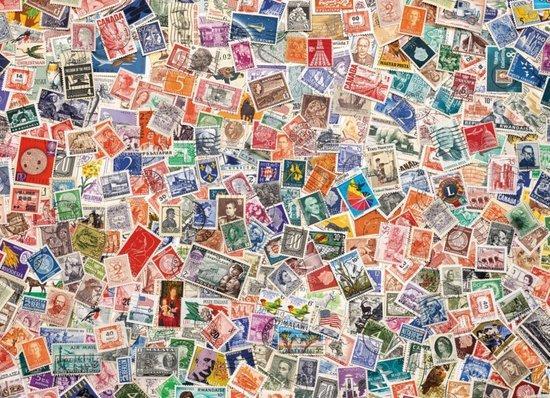 CLEMENTONI Puzzle Poštovní známky 1000 dílků