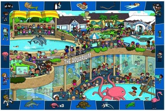 EUROGRAPHICS Puzzle Bláznivé akvárium 100 dílků