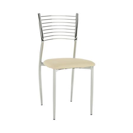 Tempo Kondela Jídelní židle, béžová, ZAIRA