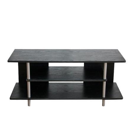 Tempo Kondela TV stolek, černá / stříbrná, Quido