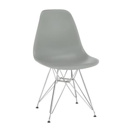 Tempo Kondela Židle, šedá, ANISA NEW