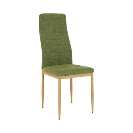 Tempo Kondela Židle, zelená látka / kov, COLETA NOVA