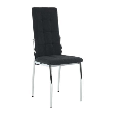 Tempo Kondela Židle, černá látka / kov, ADORA NEW