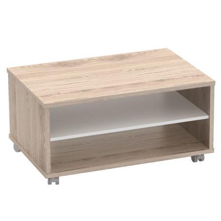 Tempo Kondela Konferenční stolek, san remo / bílá, RIOMA TYP 32