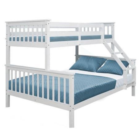 Tempo Kondela Patrová rozložitelná postel, bílá, BAGIRA