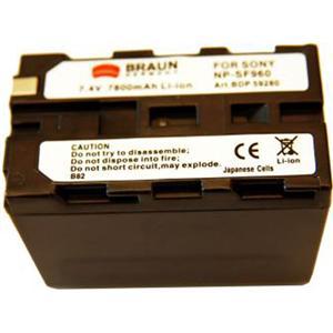 Braun akumulátor SONY NP-F930, F950, F960, 7800mAh