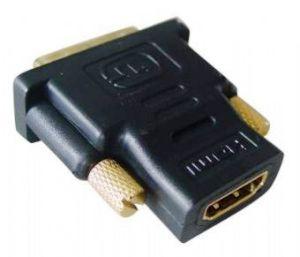 GEMBIRD redukce HDMI-DVI-D F/M,zlacené kontakty, černá