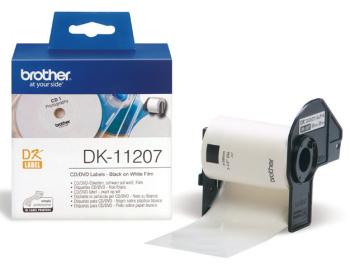 DK-11207 (papírové / CD,DVD štítek - 100 ks), DK11207