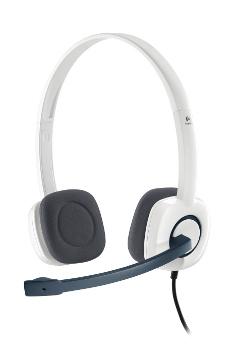 Logitech náhlavní souprava Headset H150 Coconut