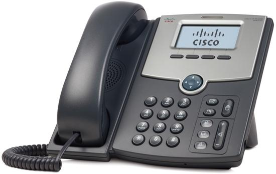 Cisco 1 Line IP Phone with Display, PoE and Gigabit PC Port, SPA512G