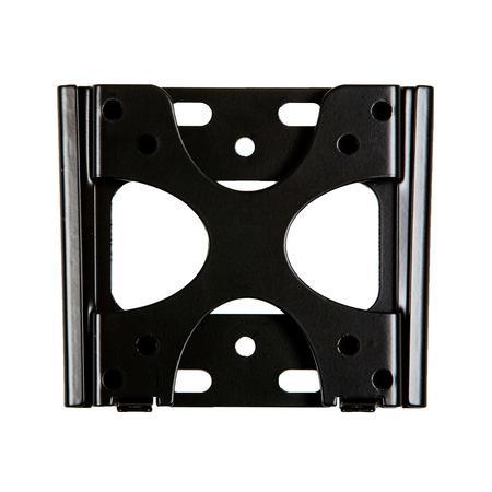 4World Fixní držák pro LCD 15``-22`` VESA 75/100 nosnost 20kg BLK, 07439-BLK