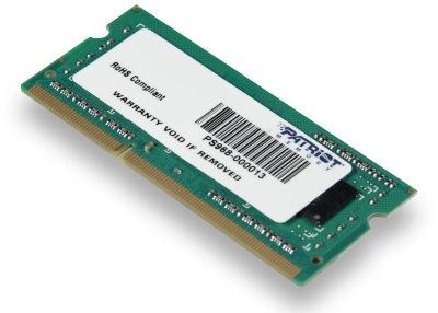 SO-DIMM 4GB DDR3-1600MHz PATRIOT CL11 SR, PSD34G160081S