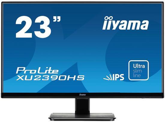 Iiyama LCD XU2390HS-B1 23`` LED, IPS, 5ms, VGA/DVI/HDMI, repro, 1920x1080, č, XU2390HS-B1