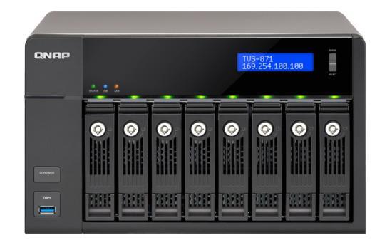 QNAP TVS-871-i7-16G (3,2G/16GB RAM/8xSATA), TVS-871-i7-16G