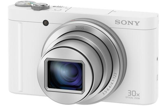 """SONY DSC-WX500 18,2 MP, 30x zoom, 3 """" LCD - WHITE"""