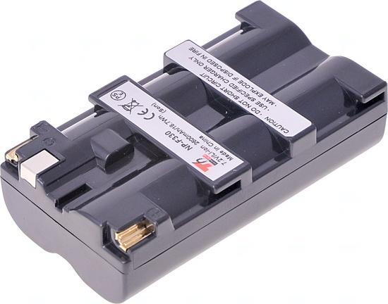 Baterie T6 power Sony NP-F330, NP-F530, NP-F550, NP-F570, 2600mAh, 18,7Wh, šedá