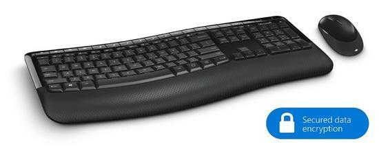 Microsoft Wireless Comfort Desktop 5050 with AES, CZ&SK