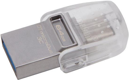 Kingston DataTraveler microDuo 3C 64GB DTDUO3C/64GB, DTDUO3C/64GB