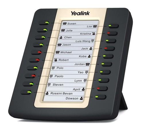 Yealink EXP20 exp. modul s LCD, 20 tl., k tel. T27/T29, 320A109