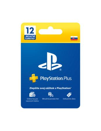 SONY PlayStation Plus Card Hang 365 dní (SK)