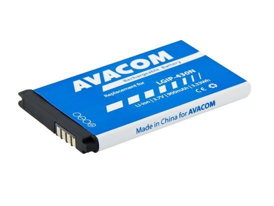 Baterie Avacom GSLG-430N-900 900mAh - neoriginální, GSLG-430N-900