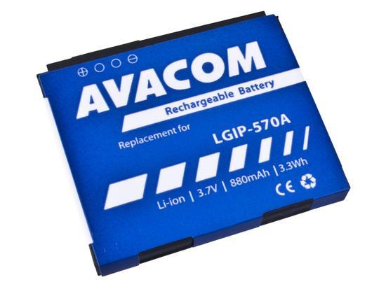 Baterie AVACOM GSLG-KP500-S880A 880mAh - neoriginální