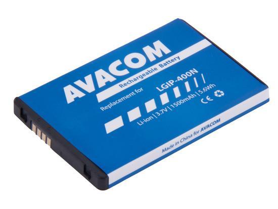 Baterie AVACOM GSLG-P500-1500 1500mAh - neoriginální, GSLG-P500-1500