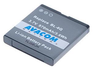Baterie AVACOM GSNO-BL6Q-S970 970mAh - neoriginální, GSNO-BL6Q-S970