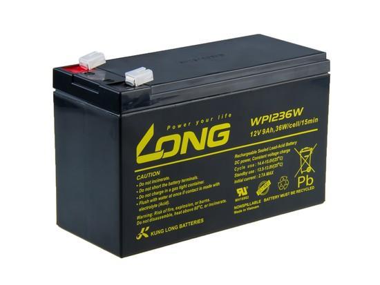 Long 12V/9Ah HighRate F2