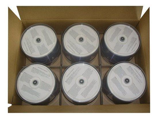 1 box CD-R 80/700 Ink Weiss, wasserfest, 300 pcs, 00681