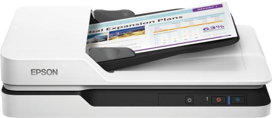 Epson skener WorkForce DS-1630/ Dokumentový A4/ 1200dpi/ USB/ 5 let záruka po registraci, B11B239401