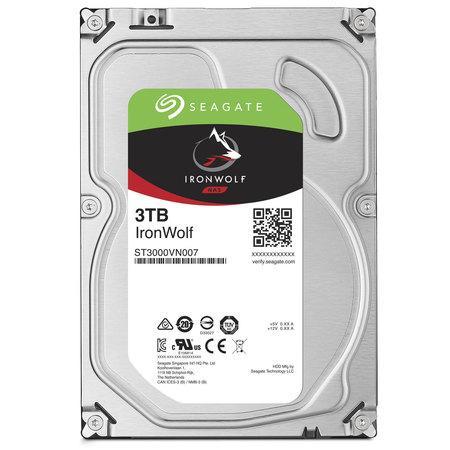 Seagate IronWolf HDD 3.5`` 3TB SATA3 5900RPM 64MB