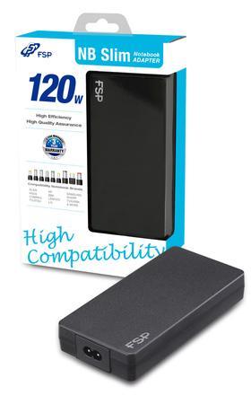 Fortron 120 Semi-Slim adaptér, 120W, 19V PNA1200703 - neoriginální, PNA1200703