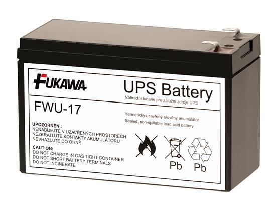 Akumulátor FWU17 náhrada za RBC17, 12326