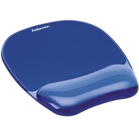Fellowes CRYSTAL modrá / Podložka pod myš a zápěstí / gelová (felfergwmpadcrystb), felfergwmpadcrystb