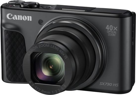 Canon PowerShot SX730 HS, 20.3Mpix, 40x zoom - černý