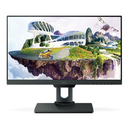 """BenQ LCD PD2500Q 25""""W/IPS LED/2560x1440/4ms/D-sub/HDMI/DisplayPort/pivot/2x2W repro/Flicker-free/Low Blue Light, 9H.LG8LA.TSE"""