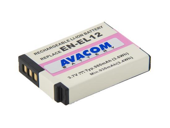 AVACOM EN-EL12 1050 mAh baterie - neoriginální