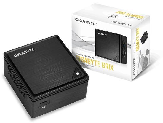 GIGABYTE BRIX GB-BPCE-3455, Intel Celeron® J3455, 2xSODIMM DDR3L, WiFi, bez OS, GB-BPCE-3455