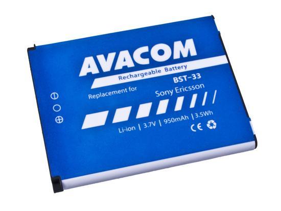 Baterie AVACOM GSSE-W900-S950A 950mAh - neoriginální, GSSE-W900-S950A