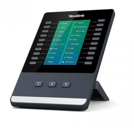 Yealink EXP50, exp. modul s LCD, 60 tl., k tel. T52S a T54S, 320A147