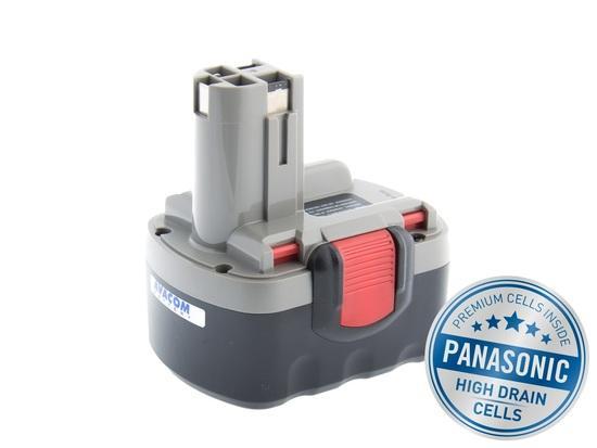 Baterie Avacom pro aku Bosch BAT038, BAT040 Ni-Cd 14,4V 3000mAh - neoriginální