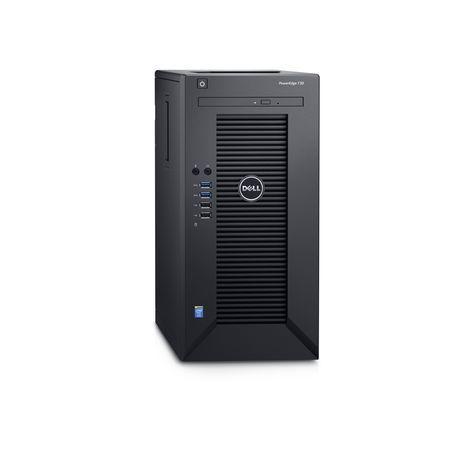 DELL PowerEdge T30/ Xeon Quad Core E3-1225 v5/ 32GB/ 4x 2TB SATA RAID 5/ DVDRW/ 3x GLAN/ 3YNBD on-site, T30-3242RS-3PS