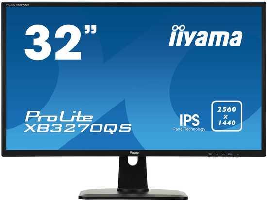 Monitor Iiyama XB3270QS-B1 32inch, panel IPS, WQHD, DVI/HDMI/DP, HAS, speakers, XB3270QS-B1