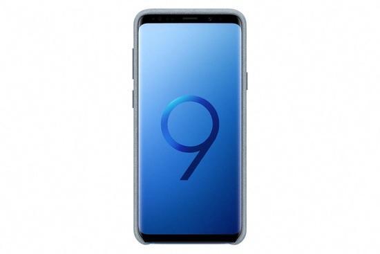 Samsung EF-XG965AM Alcantara Cover Galaxy S9+,Mint
