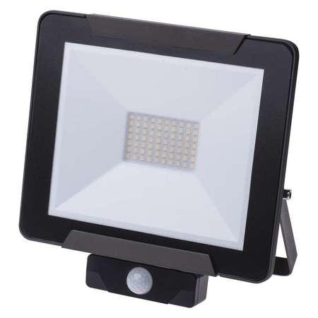 EMOS Lighting LED reflektor IDEO s PIR, 50W neutrální bílá